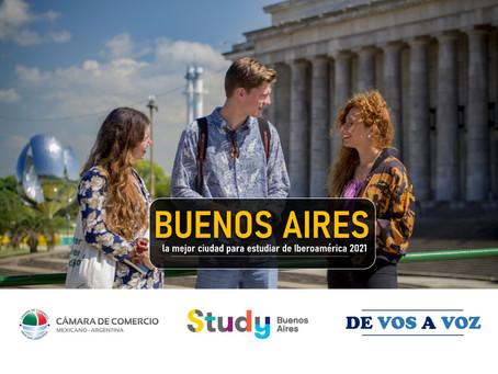 Buenos Aires Sigue Siendo la Mejor Ciudad para Estudiar de Iberoamérica