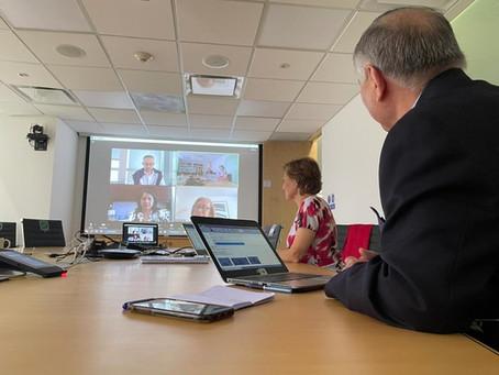 Productiva y Positiva Reunión con la Embajadora Designada de México en Argentina