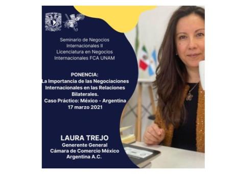 """Ponencia """"La Importancia de las Negociaciones Internacionales en las Relaciones Bilaterales"""""""