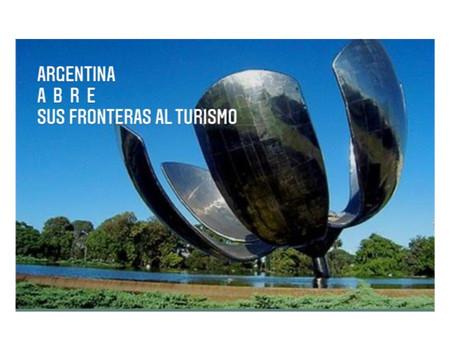 Argentina Abre Fronteras al Turismo Mundial el 1° de Noviembre