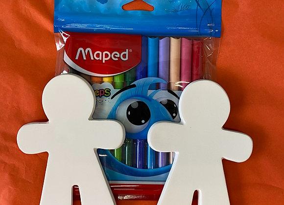 Gingerbread Men Pen Kit