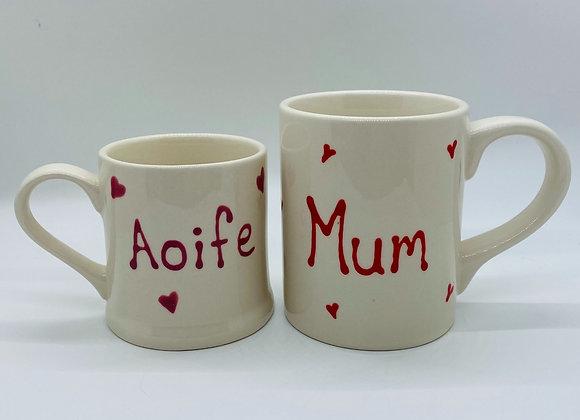 Personalised Mini Kitchen Mug