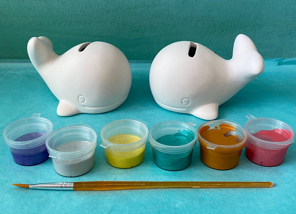 Whale Penny Banks