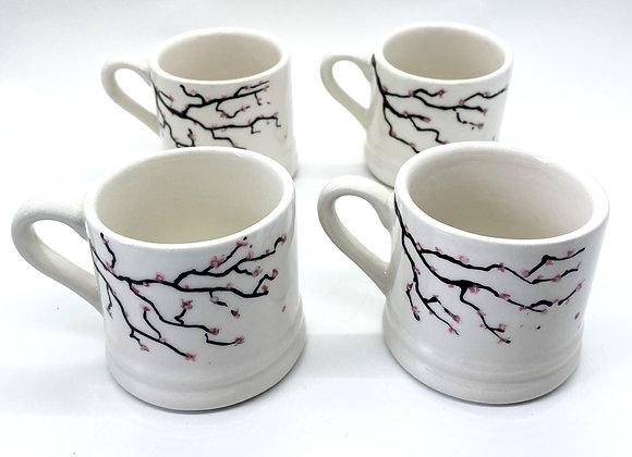 4 Espresso Cup Set