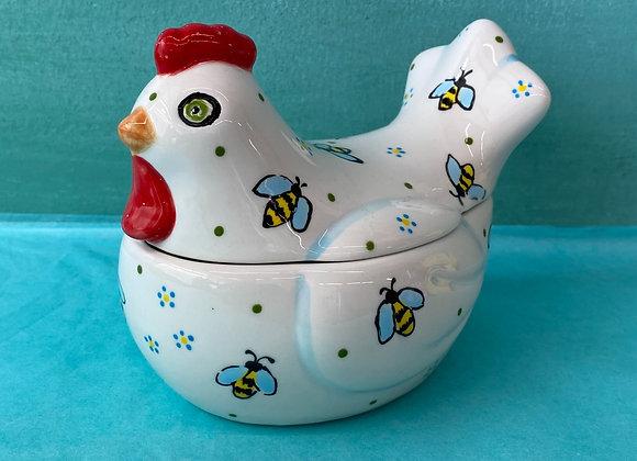Lidded Chicken Pot