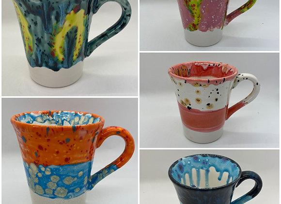 Crystal Glazed Mugs