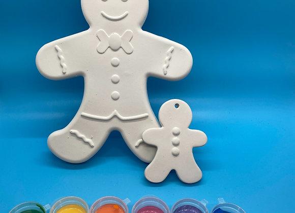 Gingerbread Man Gift Set