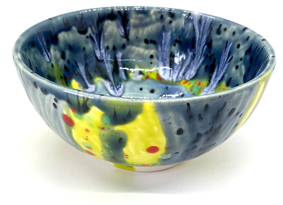 Cereal Bowl Crystal Glazed
