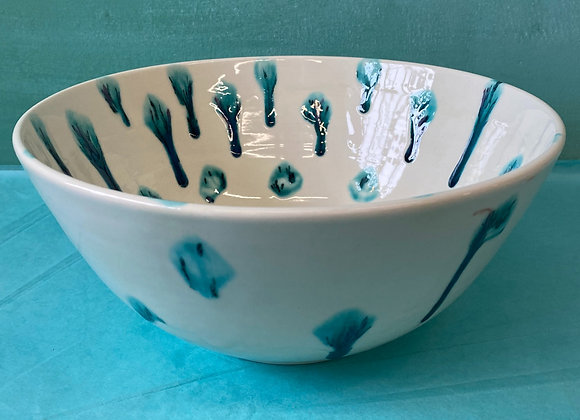 Crystal Glazed Mixing Bowl