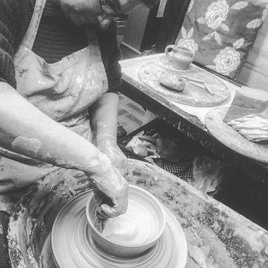 Pottery Wheel Lesson Cre Pottery Studio