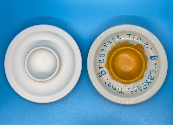 Eggcup and Saucer