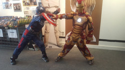 Ironman and Captain America
