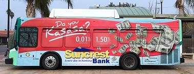 bus full side ad