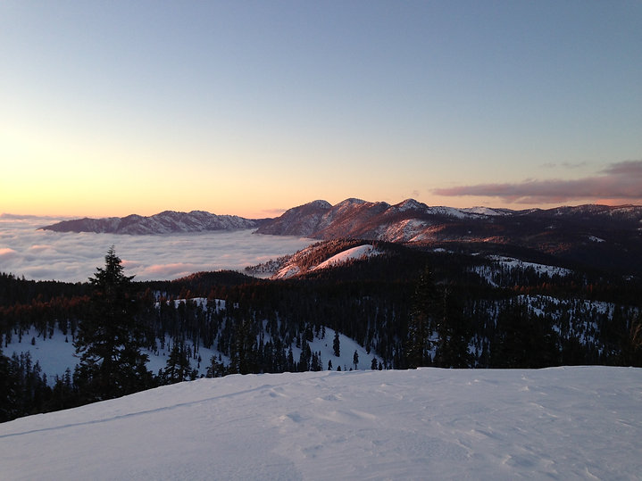Winter view from Jordan Peak - Shidan To