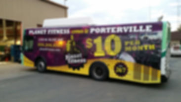 PT transit advertising - full side