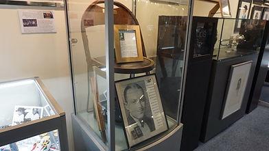 Bix Beiderbecke Chair in Display Case