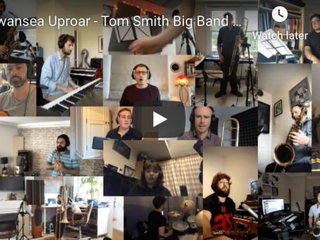 Swansea Uproar - Tom Smith Big Band Remote Recording!