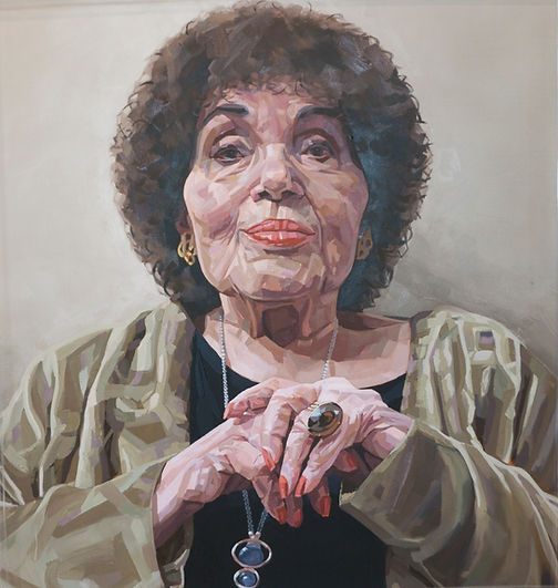 Dame Cleo Laine Painting