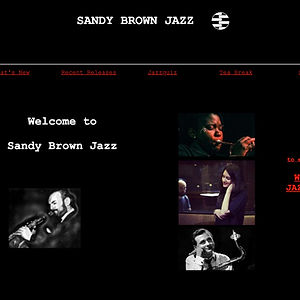 Sandy Brown Jazz Reference