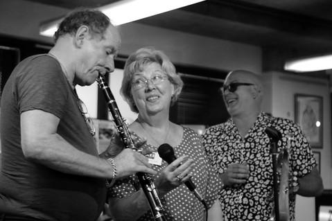 Carol Braithwaite and Digby Fairweather