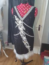 Jazz Inspired Flapper Dress by Deborah Wingfield