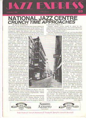 Jazz Express Article