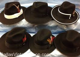 Swing Era Mens Hats