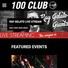100 Club Website