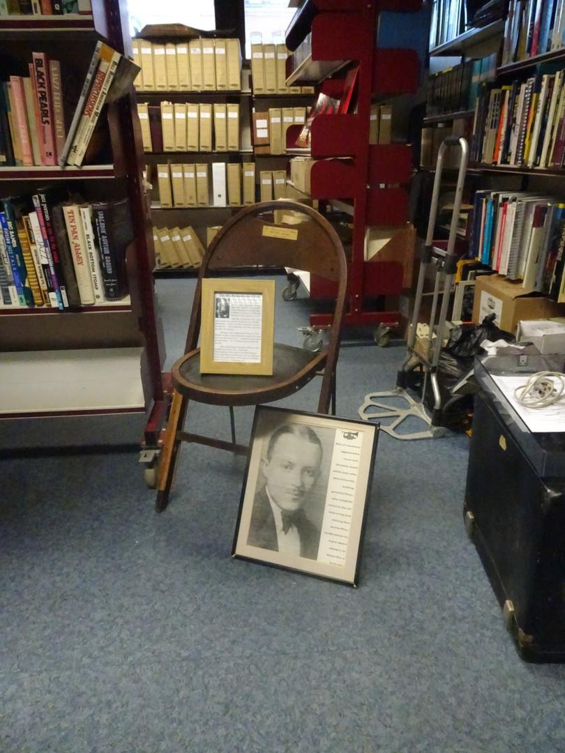 Bix Beiderbecke Chair