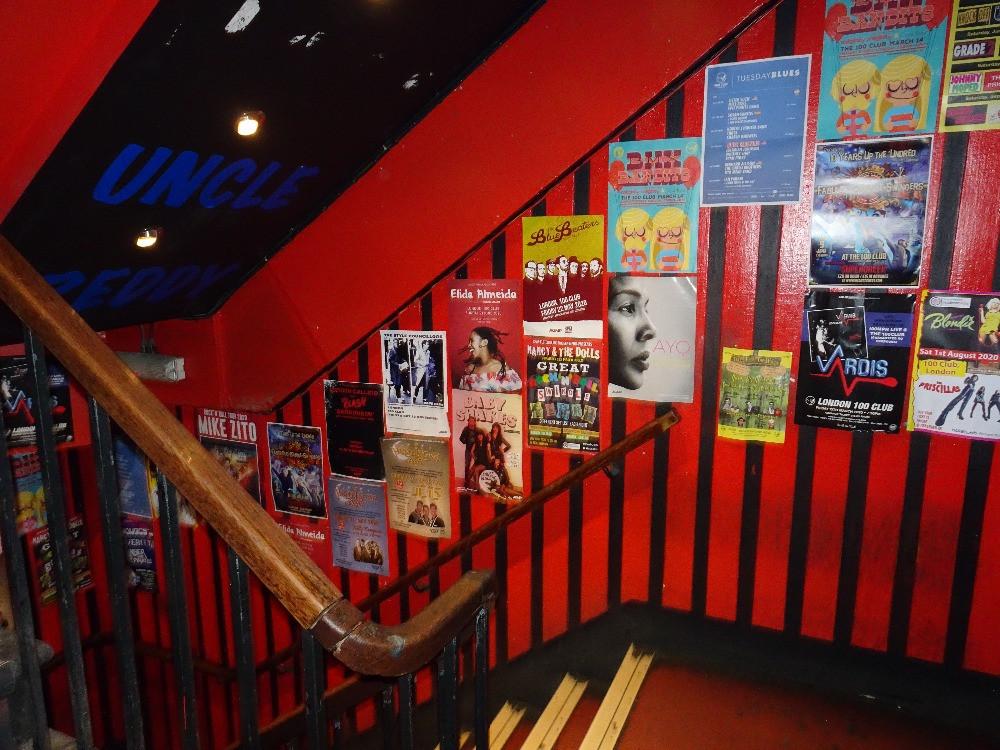 The 100 Club Entrance London