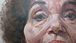 Dame Cleo Laine Painting Eyes