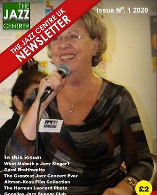 The Jazz Centre UK Newsletter Q1 2020.jp