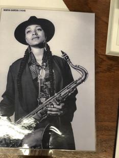 Jazz and fashion - Nubya Garcia