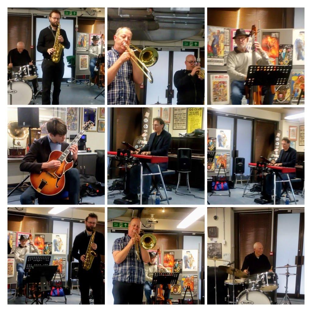 Glyn Morgan Trio at The Jazz Centre UK -