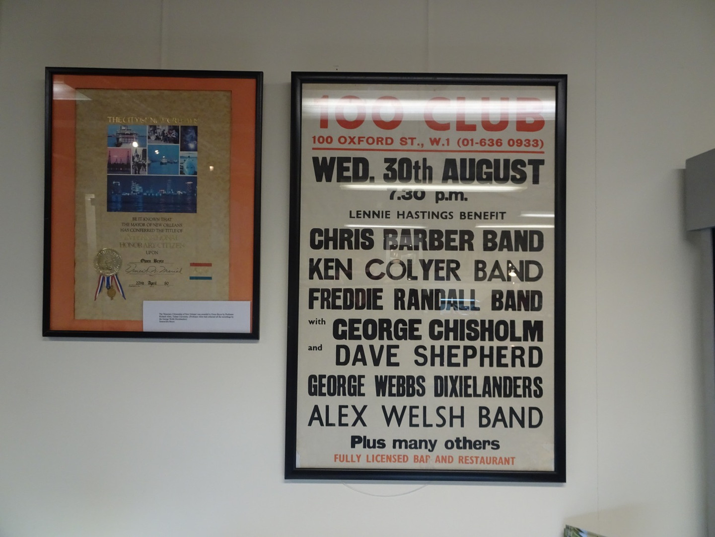 100 Club Poster