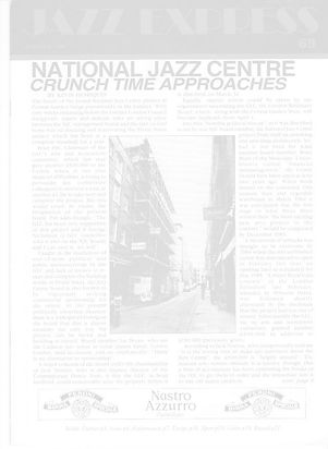 Jazz Express - Covent Garden