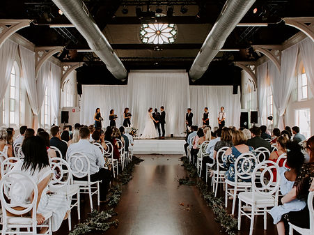 Church wedding ceremony in Brisbane