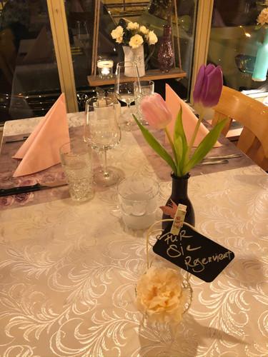 Restaurant Kanönli Thun Abendstimmung.j