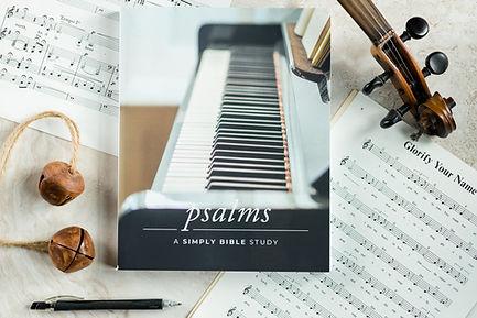 simply bible study book psalms