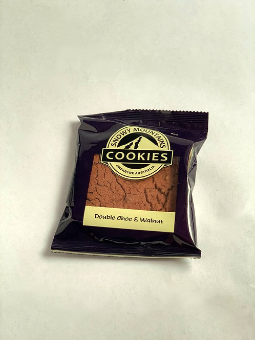 Snowy Mountains Cookie 'Double Choc & Walnut'