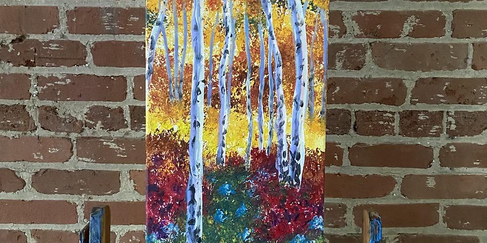 Fall Birch Trees 10/15