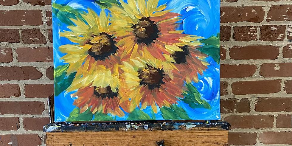 Starry Sunflowers 8/28