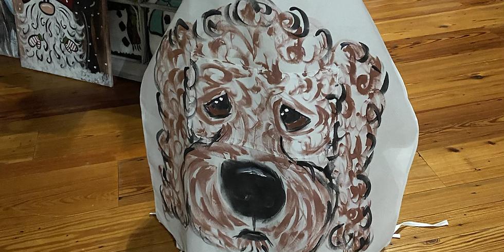 Paint Ur Pet Apron 10/26