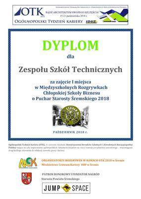 ZST mistrzem wśród szkół ponadgimnazjalnych Powiatu Śremskiego