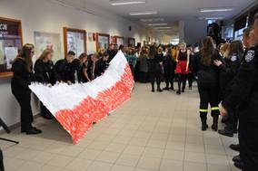 11.11 zabrzmiał Mazurek Dąbrowskiego