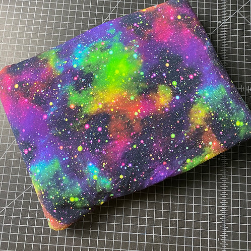Erica's 1 yard cut Rainbow Galaxy- Cotton Lycra