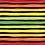 Thumbnail: Michelle's *1 Yard Cut* Rainbow Veggie Stripes Black  - Woven