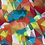 Thumbnail: Erica's 1 yard cut of Bright Prisms-COTTON LYCRA