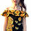 Thumbnail: Michelle's HALF YARD cut of Sunflower Breeze - Cotton Lycra PS2