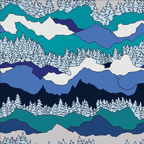 *Re-Print*Arctic Mountains